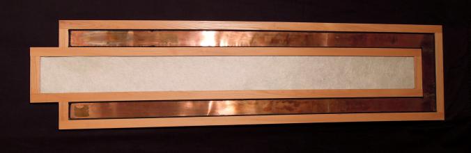 Concept Tile and Design Scott Klandl Copper Maple Rice Paper Wallpiece Vermont