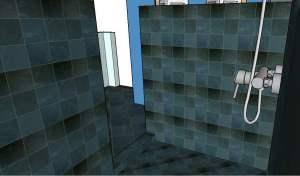 Concept Tile and Design Scott Klandl Vermont 3D Modeling Sketchup Slate